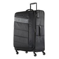 Travelite Kite nagy bőrönd fekete 4 kerekű bővíthető