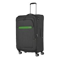 Travelite Madeira nagy bőrönd antracit 4 kerekű bővíthető