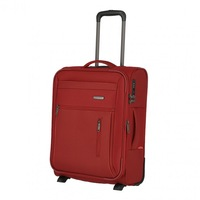 Travelite Capri kabinbőrönd piros 2 kerekű bővíthető
