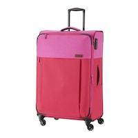 Travelite Neopak nagy bőrönd piros-pink 4 kerekű bővíthető