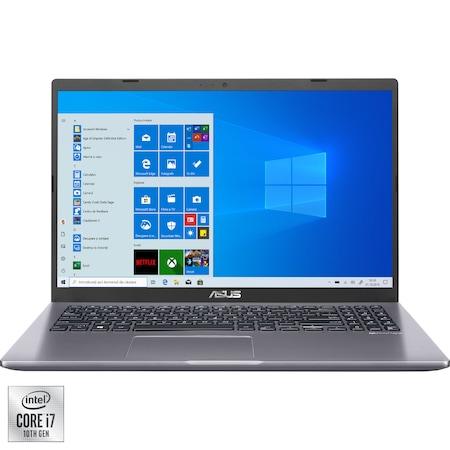 "Лаптоп ASUS X509JA, 15.6"", Intel® Core™ i7-1065G7, RAM 8GB, SSD 512GB, Intel® Iris™ Plus Graphics, Microsoft Windows 10 Pro, Slate Grey"