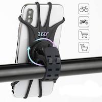 suport telefon pe bicicleta decathlon