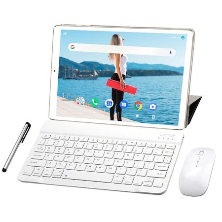 "Tableta YOTOPT, Android 9.0, 2GB RAM, 32 GB ROM, Quad-core 1.3GHz,3G/WIFI,10.1"",1280*800,Auriu"