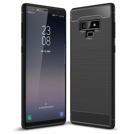 Husa TPU Carbon pentru Samsung Galaxy Note9 N960, Negru