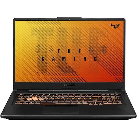 "Лаптоп Gaming ASUS TUF A17 FA706II, 17.3"", AMD Ryzen™ 5 4600H, RAM 8GB, SSD 512GB, NVIDIA® GeForce®GTX1650Ti 4GB, No OS, Bonfire Black"