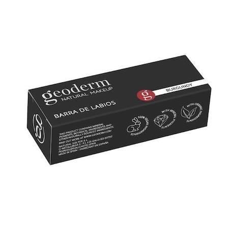Ruj de buze Geoderm, culoare Burgundy, 4 g