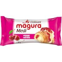 Croissant cu umplutura de visine si vanilie 80g Magura