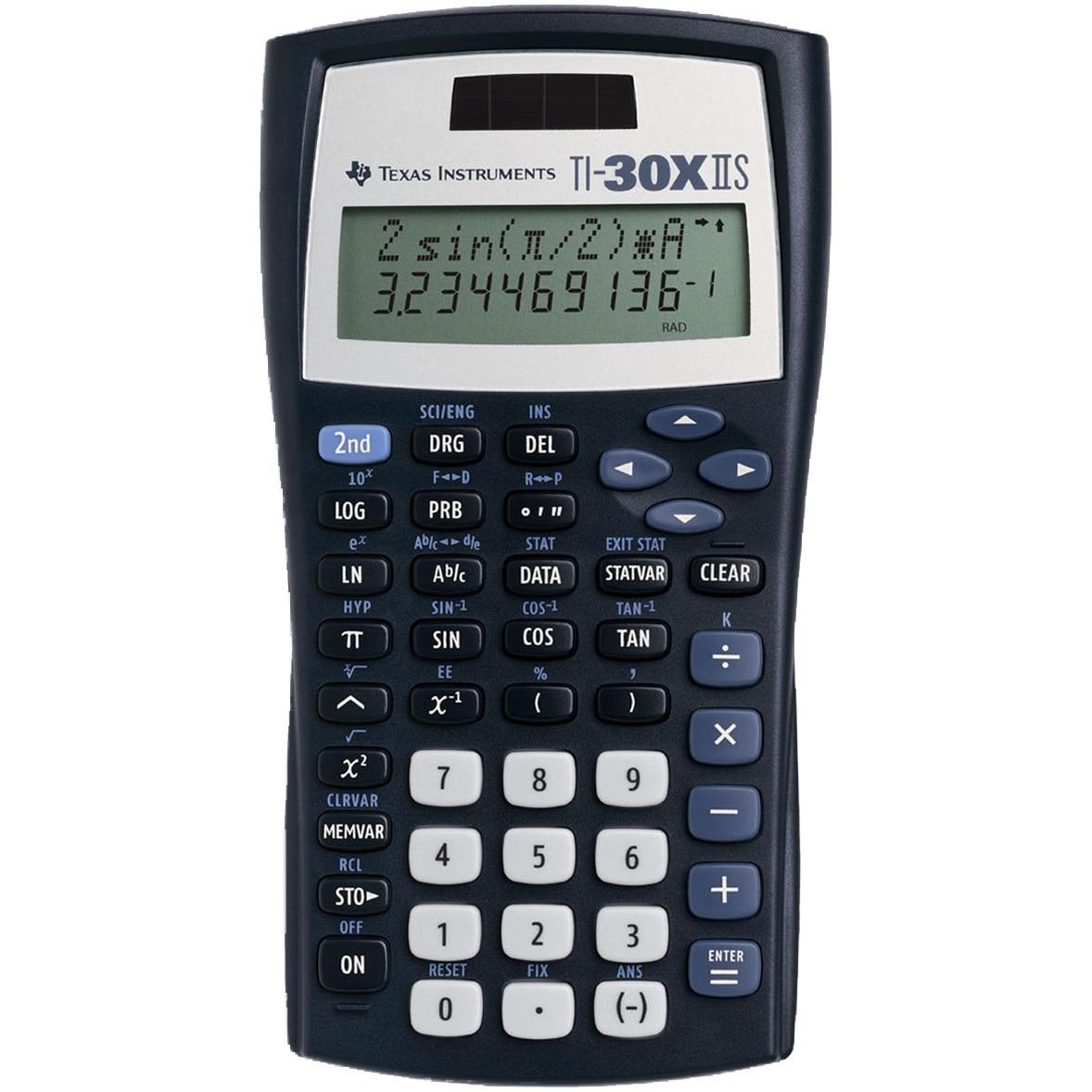 Fotografie Calculator stiintific Texas Instruments TI-30XS II, afisaj cu 2 linii