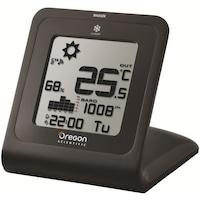 Метеорологична станция Oregon SL103 c Touch, Функция барометър, Влажност, Температура, Дата, Атомен часовник и аларма