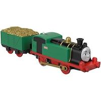 Thomas Track Master Gina motorizált mozdony rakománnyal