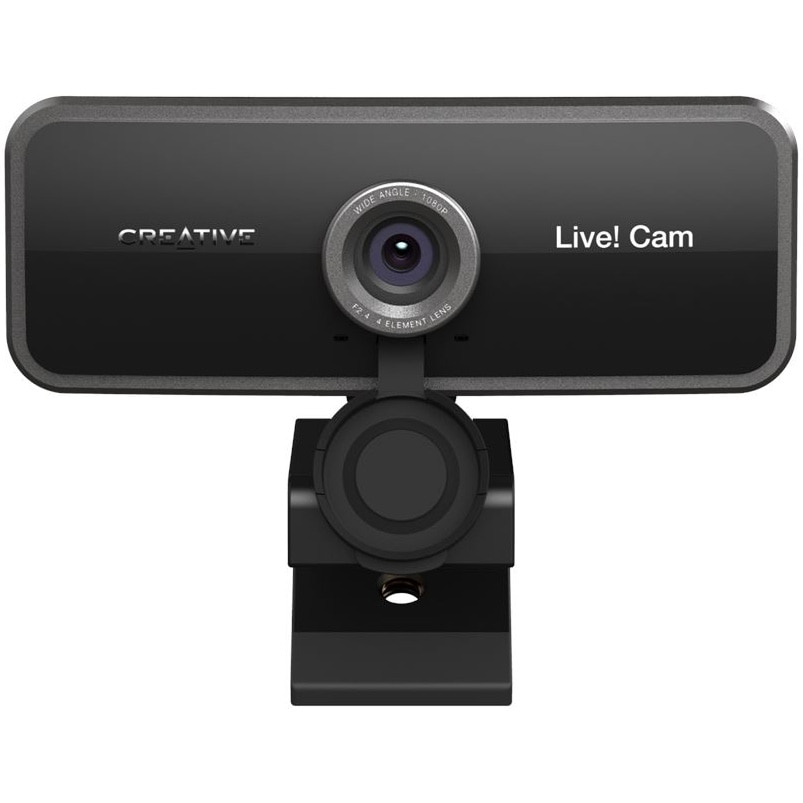 Fotografie Camera Web Creative LIVE! CAM SYNC, 1080p FullHD, lentile wide-angle 77°, privacy shutter, microfon dual, USB