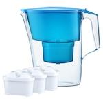 Кана за филтриране на вода Maxfor Aquaphor, Модел Time Blue, 3 филтъра