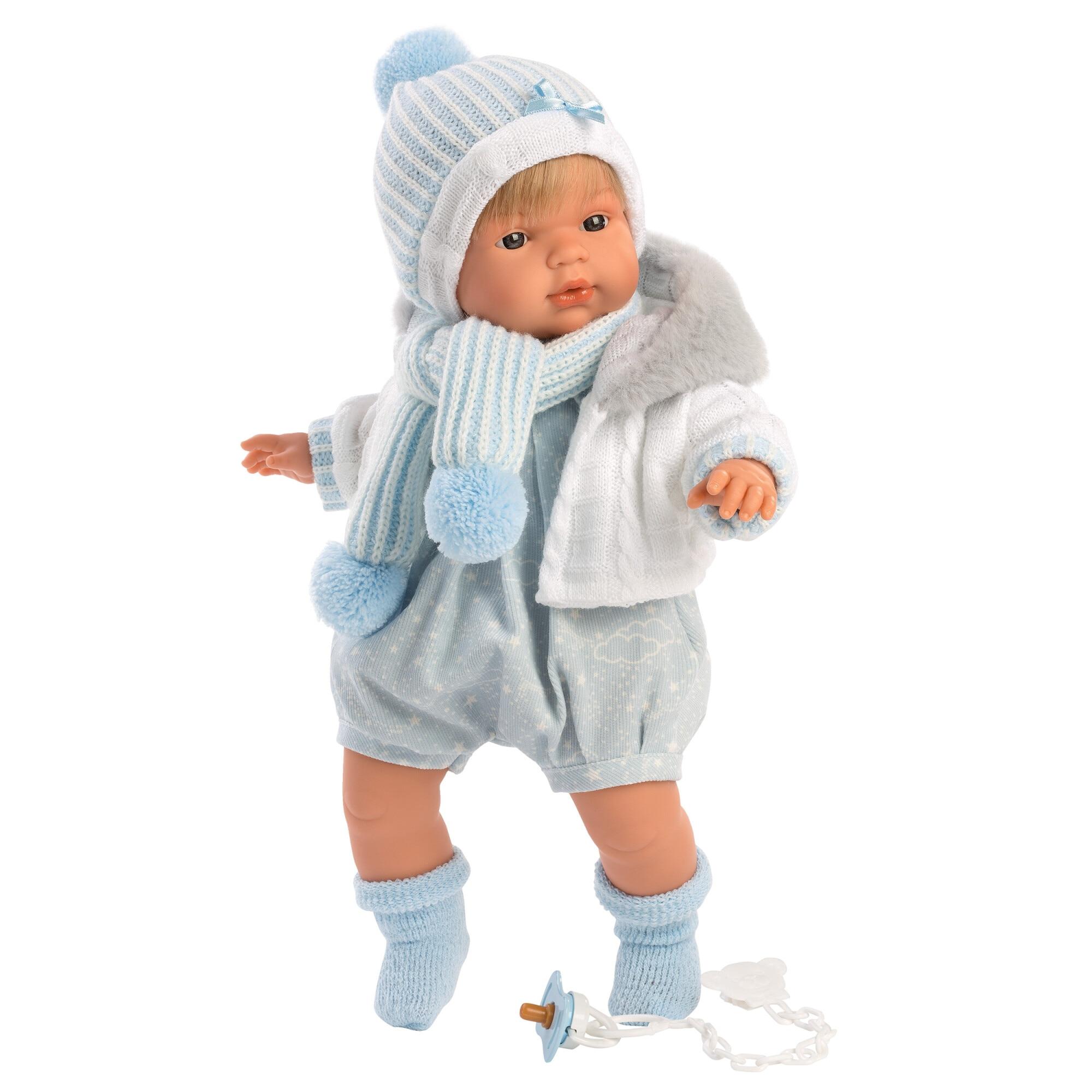 Fotografie Papusa interactiva Llorens Crying Babies - Sasha, 38 cm
