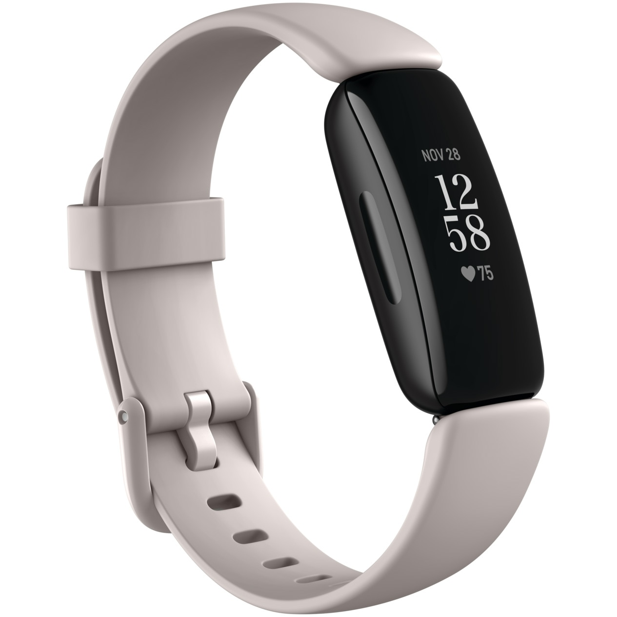 Fotografie Bratara fitness Fitbit Inspire 2, Lunar White