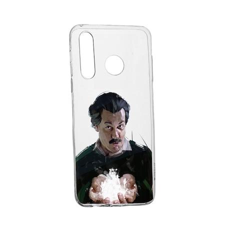 Husa Narcos Pablo Escobar, Movie pentru Motorola Moto G8 Plus, rezistenta la uzura, anti-alunecare, din silicon Premium, 446