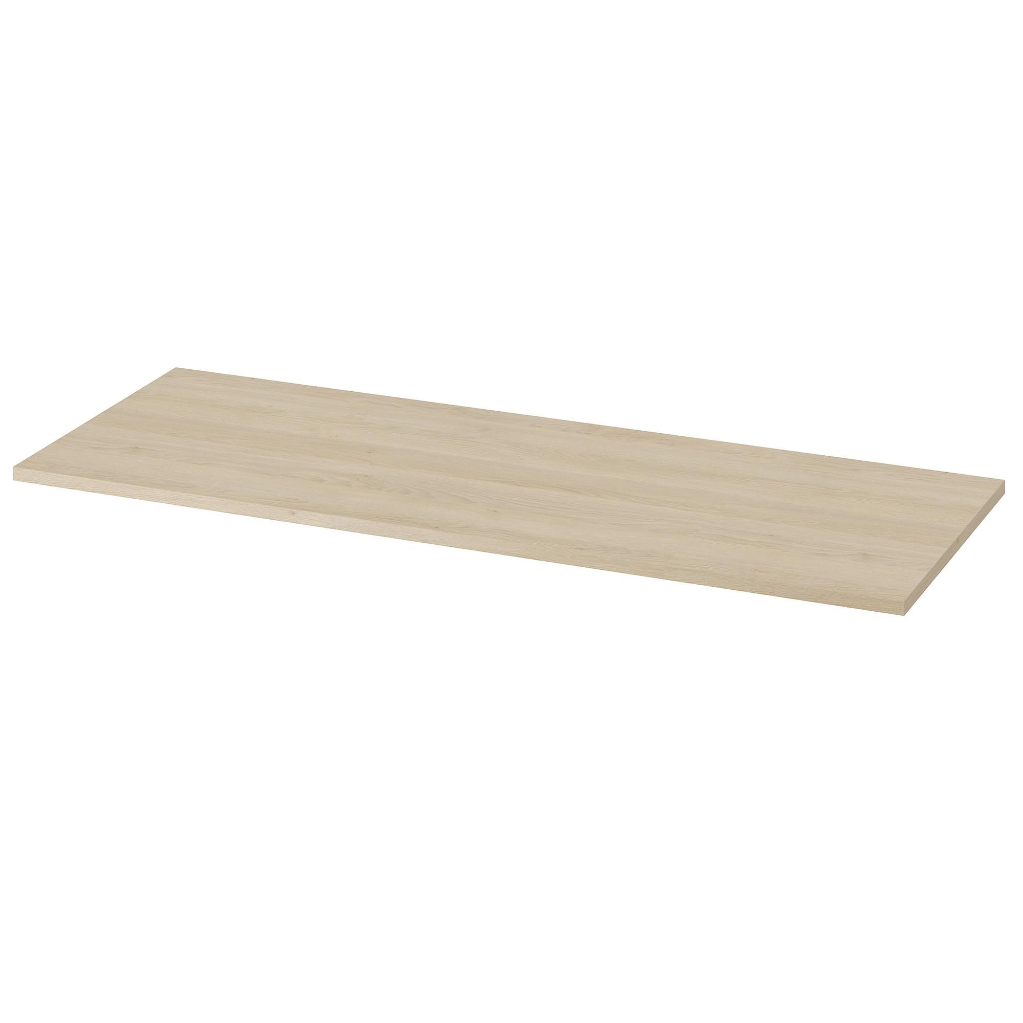 Fotografie Blat mobilier baie Cersanit Moduo, S590-026, AquaSafe, stejar, 120 cm