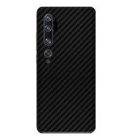 Защитно фолио за Xiaomi Mi 10, Карбон, Черен