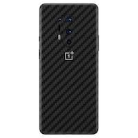 Защитно фолио за OnePlus 8 Pro, Карбон, Черен