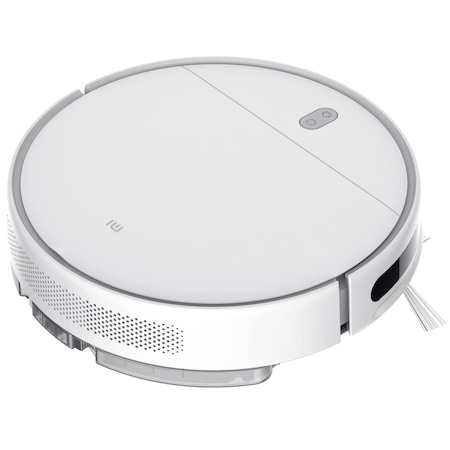 Робот прахосмукачка Xiaomi Mi Robot Vacuum Mop Essential, 2500 mAh, 25 W, Клас A+++, Бял