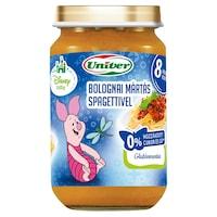 Univer Walt Disney Bébiétel bolognai spagetti, 8 hónapos kortól, 163g