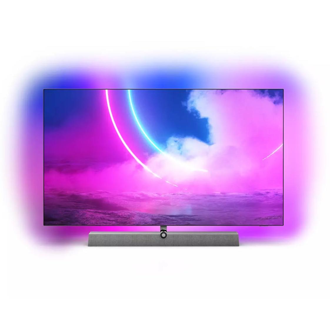 Fotografie Televizor Philips 65OLED935/12, 164 cm, Smart Android, 4K Ultra HD, OLED, Clasa B