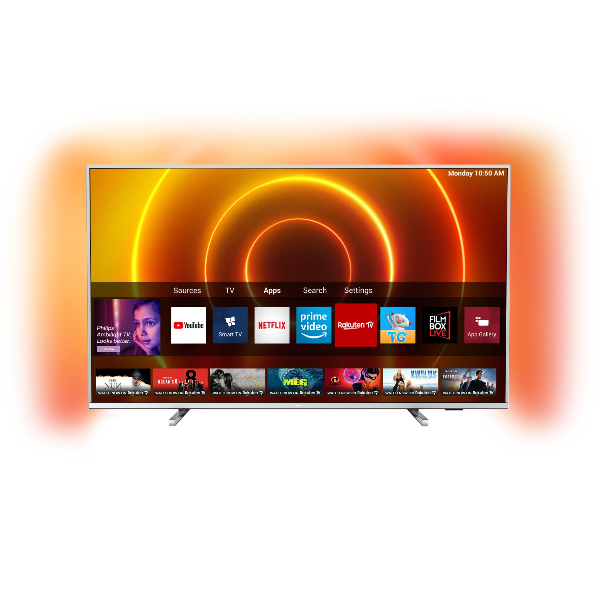 Fotografie Televizor Philips 50PUS7855/12, 126 cm, Smart, 4K Ultra HD, LED, Clasa A