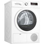 Сушилня Bosch WTH85203BY, Термопомпа, 8 кг, Клас A++, Кондензационна, 15 програми, AutoDry, Бял