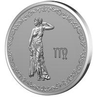 Сребърен медальон Gold Center Зодия Дева
