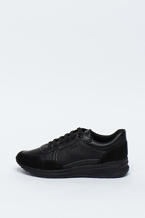 Geox, Спортни обувки Airell от еко кожа с велур