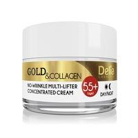 Delia 55+ arany és kollagén ránctalanító krém 50 ml