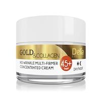 Delia 45+ arany és kollagén ránctalanító krém 50 ml