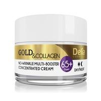Delia 65+ arany és kollagén ránctalanító multi-booster krém 50 ml