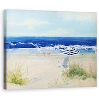 Картина на платно Dekorkép, Природа, Пейзаж, Лято, Море, 80 х 100 см