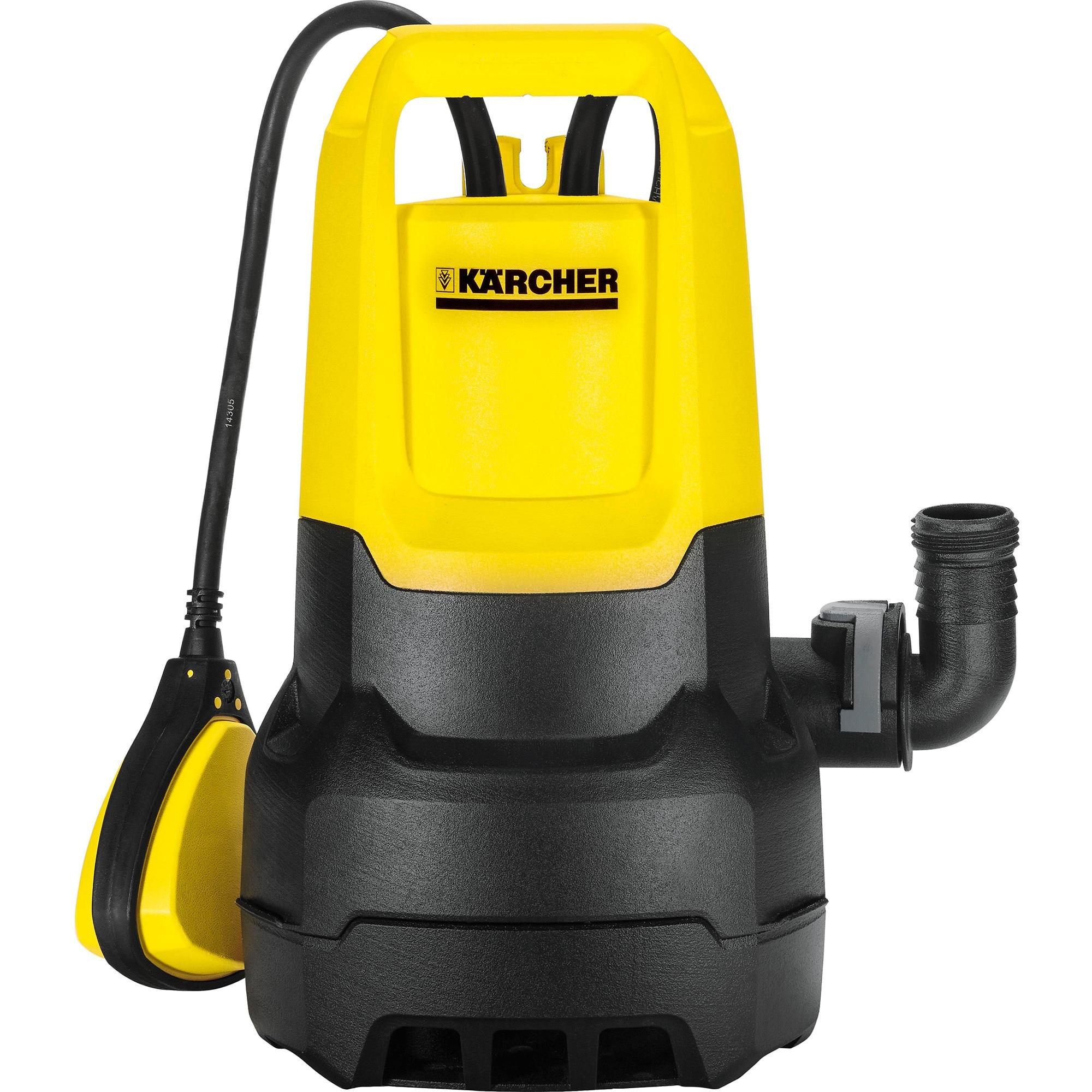 Fotografie Pompa submersibila apa murdara Karcher SP 3 Dirt, 350 W, 7.000 l/h, 0.6 Bar