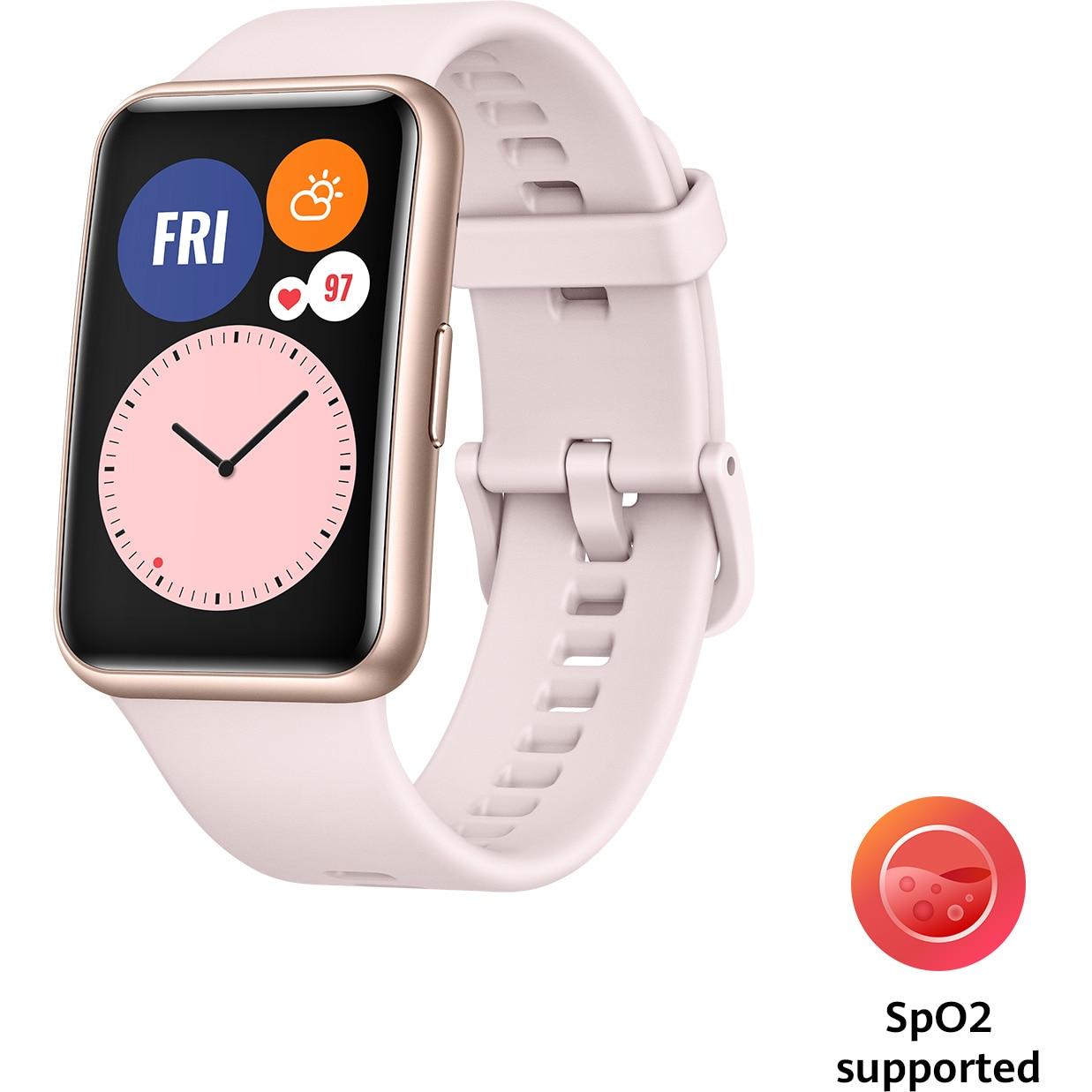 Fotografie Ceas smartwatch Huawei Watch Fit, Sakura Pink