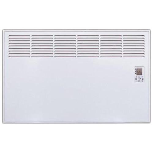 Fotografie Convector de perete sau pardoseala iVigo Profesional EPK 500 W White, control electronic, Termostat de siguranta, termostat reglabil, IP 24, pentru 6 mp, ERP 2018
