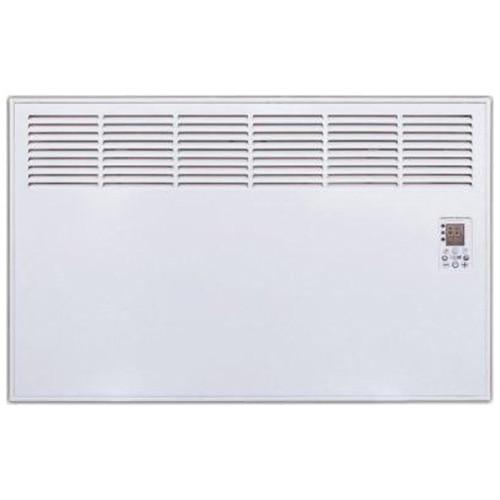 Fotografie Convector de perete sau pardoseala Vigo Profesional EPK 1000 W White, control electronic, Termostat de siguranta, termostat reglabil, IP 24, pentru 12 mp, ERP 2018