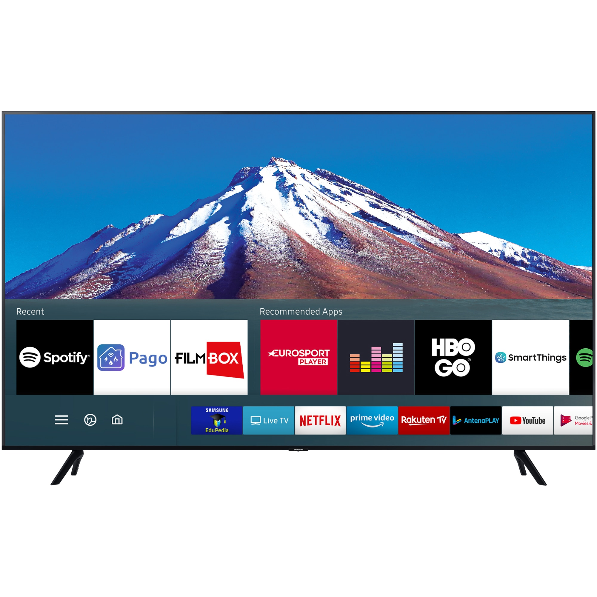 Fotografie Televizor Samsung 65TU7092, 163 cm, Smart, 4K Ultra HD LED, Clasa G