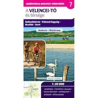 Velencei-tó és térsége kerékpáros térkép 2., aktualizált kiadás