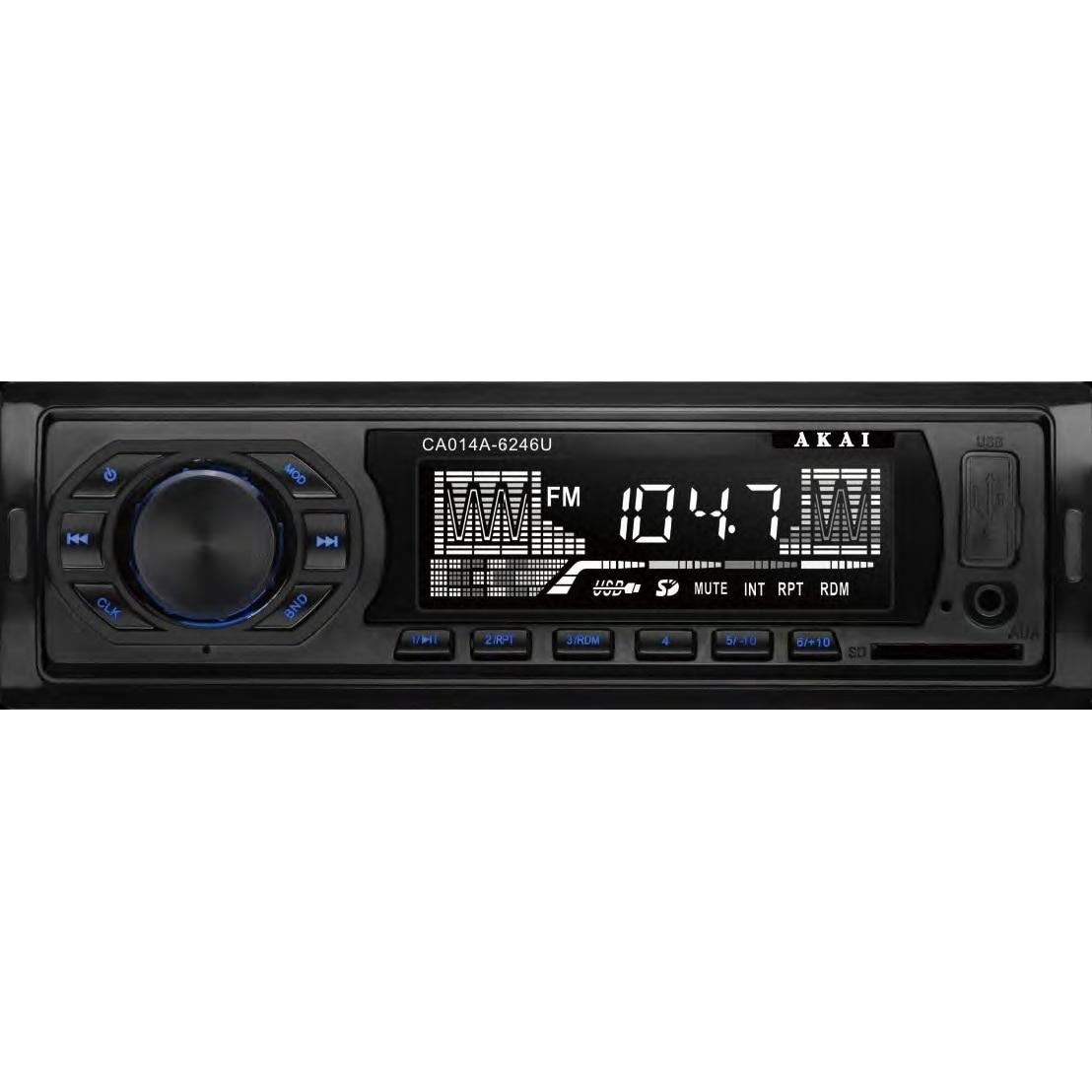 Fotografie Radio auto Akai CA014A-6246U, USB, AUX