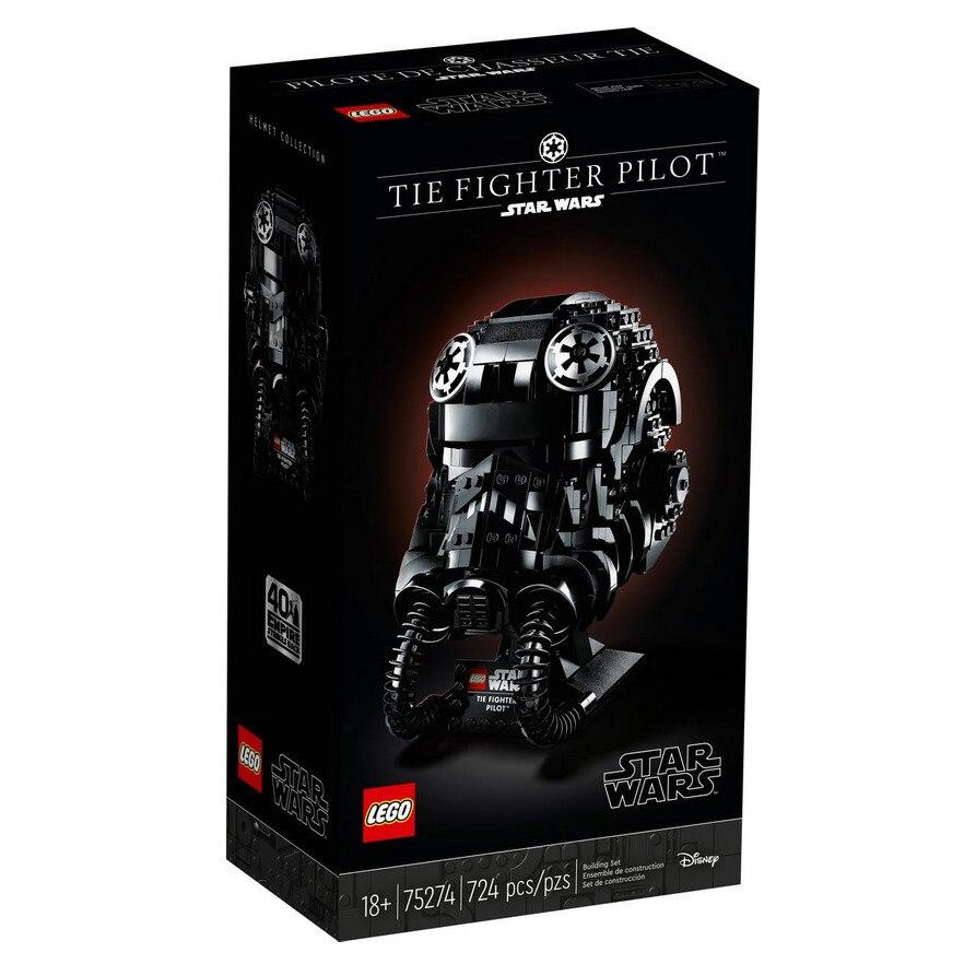 Fotografie LEGO Star Wars – Casca TIE FIGHTER Pilot 75274, 724 piese