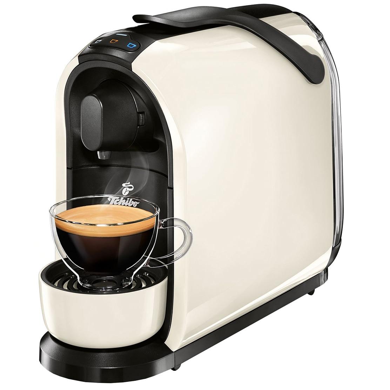Fotografie Espressor Tchibo Cafissimo Pure 326529, 15 bari, 1 l, Capsule, Alb