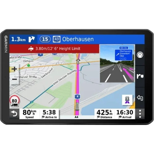 "Fotografie Sistem de navigatie camioane Garmin GPS Dezl LGV800 MT-D , Ecran 8"""
