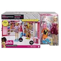 Mattel Barbie álom öltöző szoba babával