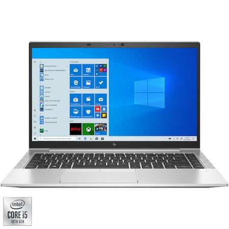 "Лаптоп Ultrabook HP EliteBook 840 G7, 14"", Intel® Core™ i5-10210U, RAM 8GB, SSD 256GB, Intel® UHD Graphics, Microsoft Windows 10 Pro, Silver"