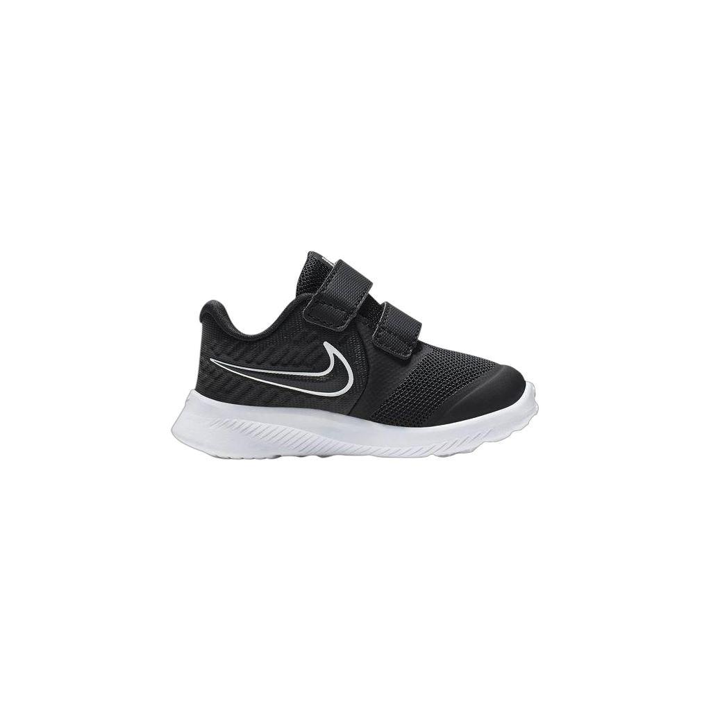 copii, Nike, Star Runner 2 TD, negru