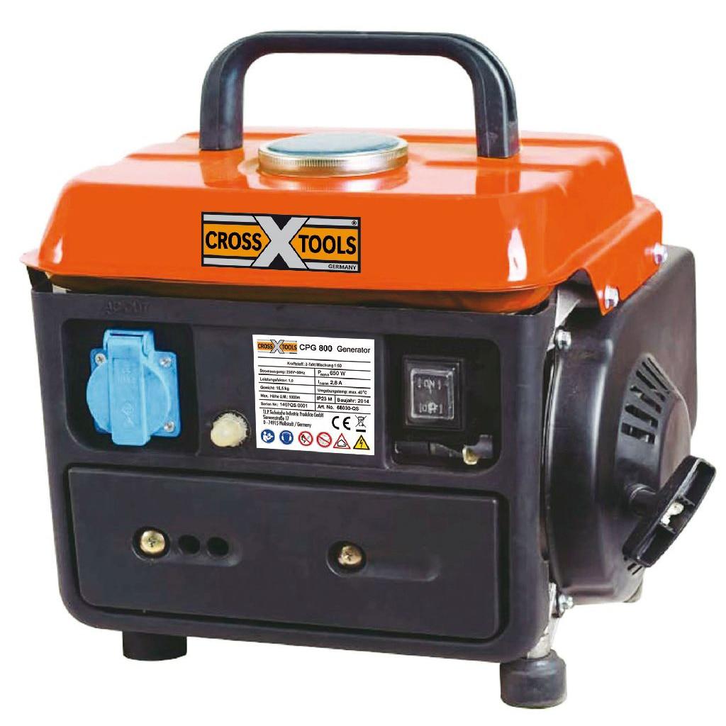 Fotografie Generator curent electric CrossTools CPG 800 (2-Takt), 650W, 2CP, 4.2L