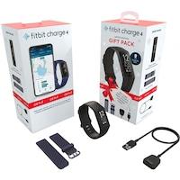 Fitbit Charge 4 ajándék csomag, 1x CH4 aktivitásmérő, 2x töltő, 1x-1x tengerészkék/fekete szíj