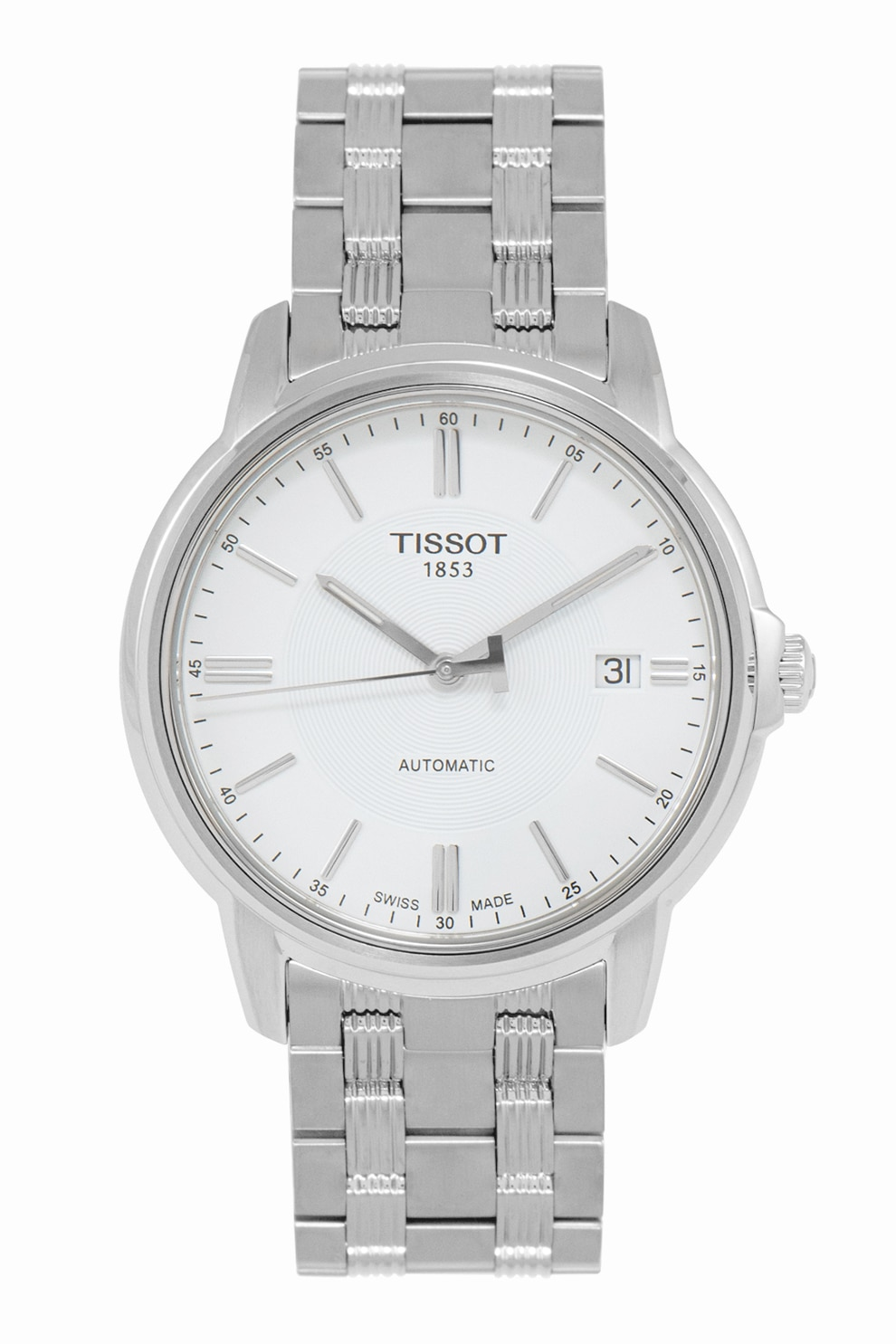 Fotografie Tissot, Ceas automatic din otel inoxidabil, Argintiu