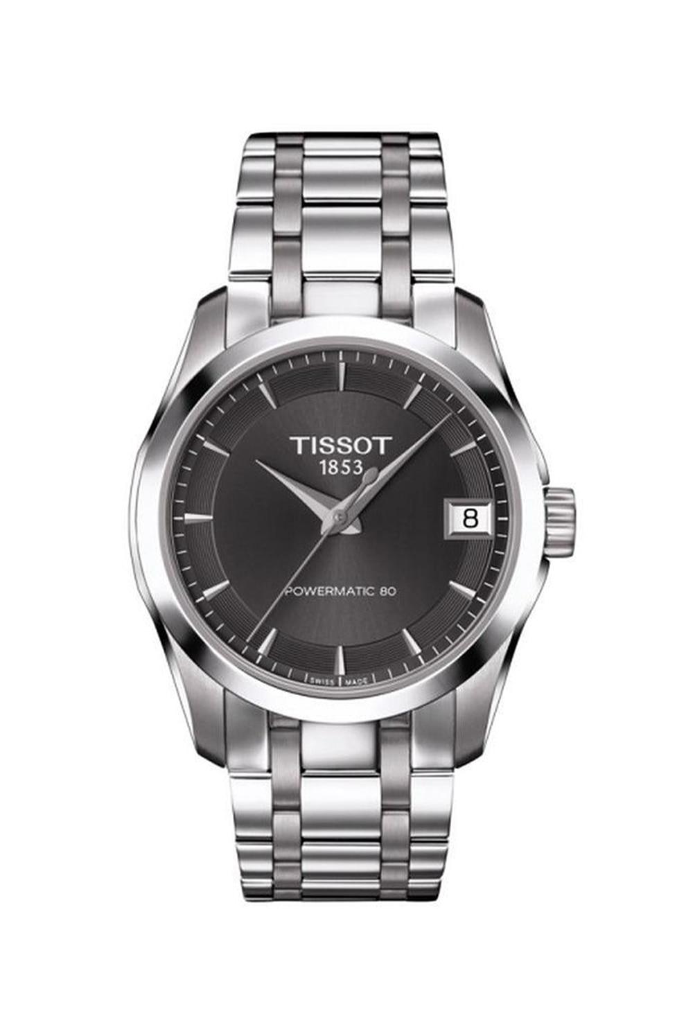 Fotografie Tissot, Ceas de otel inoxidabil Powermatic 80, Argintiu